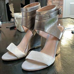 Ankle strap Wedge Sandal